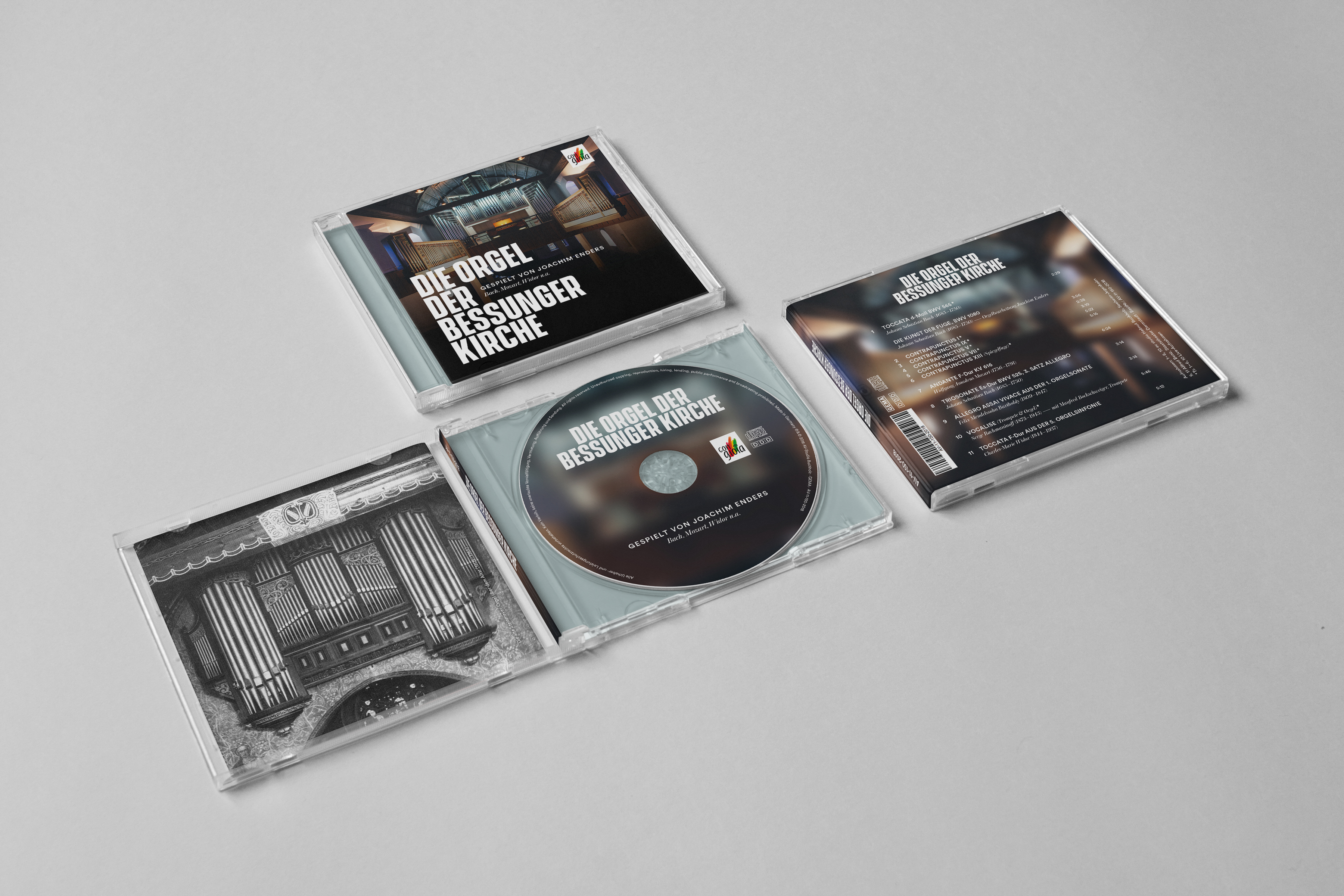 CD mit Cover